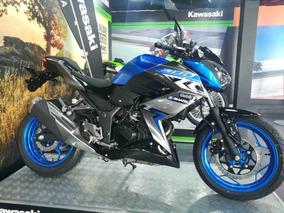Kawasaki Z300 Edición Especial, (azul-rojo)