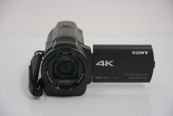 Filmadora Sony Fdr-ax33 4k Ultra Hd Handycam Pronta Entrega - Não É Fdr-ax40 Fdr-ax53