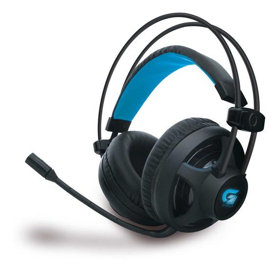 Fone Headset Gamer Fortrek Pro H2 Com Microfone Cabo Trançado 2 Metros Para Computador Notebook Preto