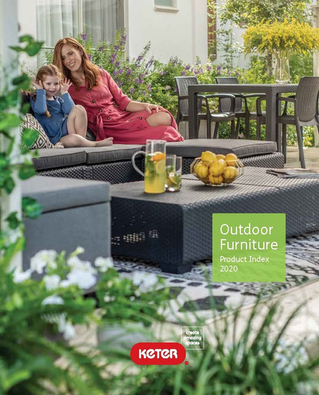 Catalogo Outdoor Furniture Product Index 2020 (version Pdf)