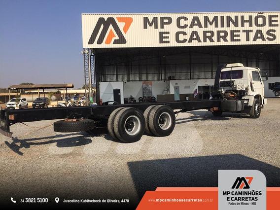 Caminhão Volksvagen Vw 16.220 6x2 No Chassi Truck