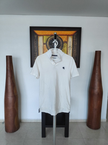 Playera Polo Blanca Original