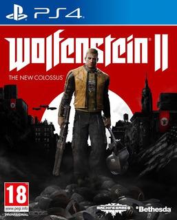 Wolfenstein 2 The New Colossus Ps4 Oferta