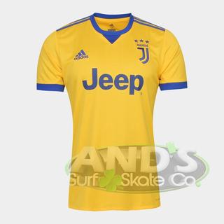 Camisa Juventus Away 17/18 S/nº Torcedor adidas Masculina