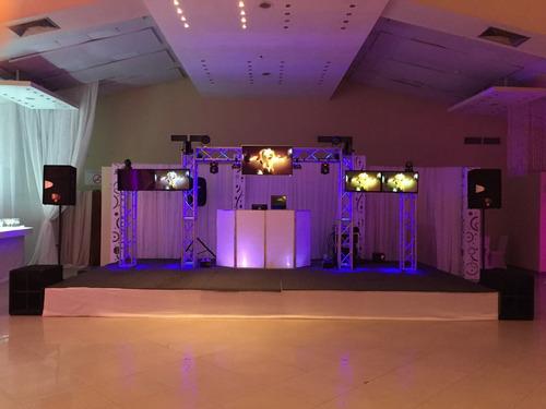 Alquiler  Sonido, Audio Visual, Miniteca, Iluminacion