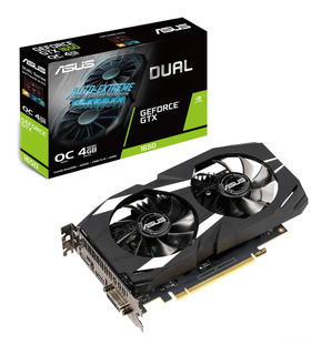 Tarjeta Video Asus Geforce Gtx 1650 Dual 4gb Gddr5- Boleta
