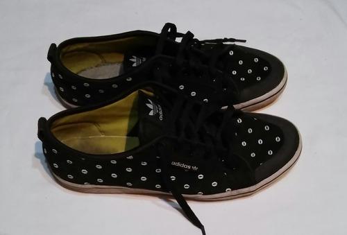 Zapatillas adidas Usadas De Mujer De Lona Talle 40/27.5 Cm