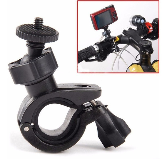 Suporte De Câmera Para Guidon De Moto Bike Motocicleta 32mm
