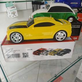 Carrinho Camaro Caixa De Som Usb/cartão/rádio Fm - 5w