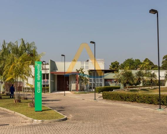 Terreno A Venda Lado A Lado No Condomínio Alphaville Manaus 1, Dois Lotes 540 M² / 500 M², Ponta Negra, Manaus. - Te00120 - 32042441