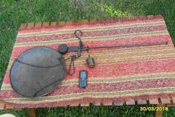 Antigua Balanza De Colgar Verdulera De 25kg Dache Sana