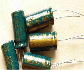 Capacitor Eletrolítico 1800uf 6,3v 105º 10 Peças