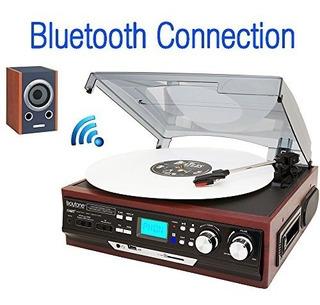 Tornamesa Boytone Bt-37m-c Bluetooth 3-speed Stereo