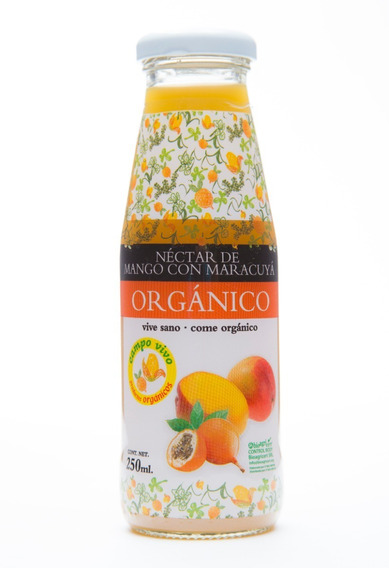 Néctar De Mango Y Maracuya Organico Campo Vivo 250ml