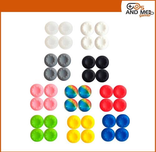 Imagen 1 de 5 de Grips Stick Par Protector Mando Ps4 Ps3 Xbox Colores Tienda