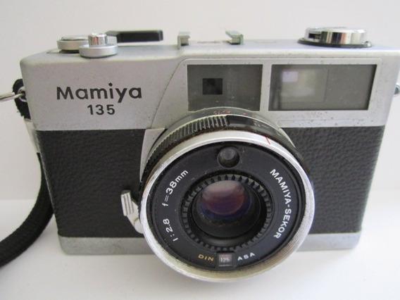 Câmera Fotográfica Antiga Mamiya 135