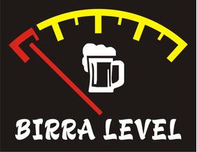 Calcomanía Birra Level 27 X 20 Cm Graficastuning