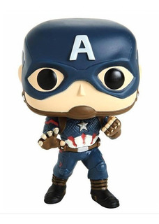 Funko Pop Marvel Avengers Endgame Captain America Exclusivo