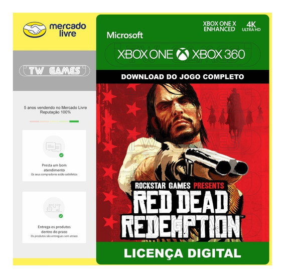 Red Dead Redemption Digital Retro Xbox One Xbox 360