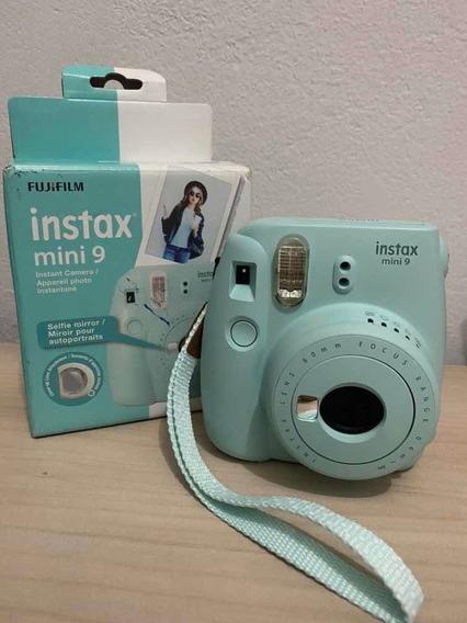 Câmera Instantânea Fujifilm Instax Mini 9 Ice Blue