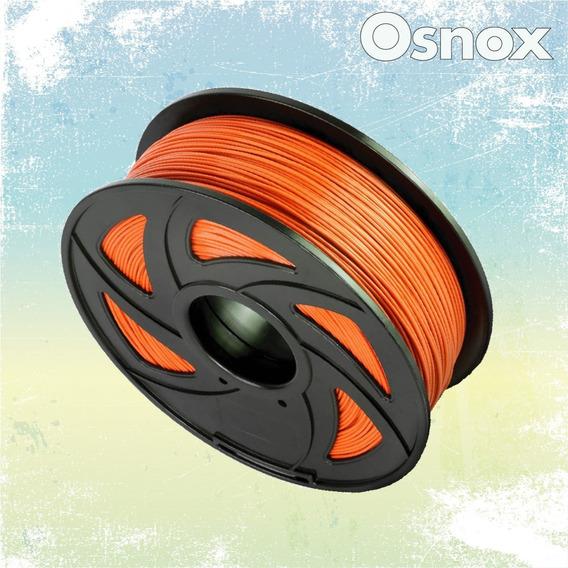 Filamento Rollo Pla Naranja 3d 1.75mm Impresora 3d Kit Anet