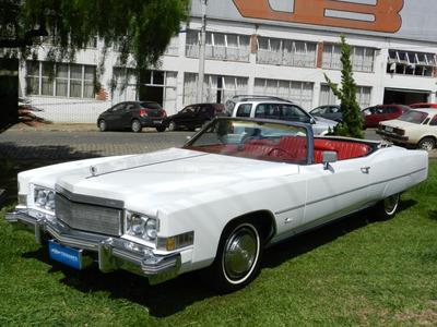Cadillac Eldorado Conversível 1974 V8 Original Placa Preta