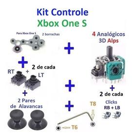 Xbox One S - Kit Reparo Do Controle - Frete R$ 15,80