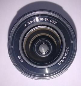 Lente Sony 18-55 3.5-5.6 Nex Todas