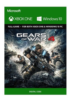 Gears Of War 4 Xbox One/pc Digital Entrega Inmediata