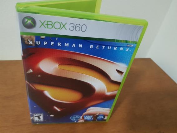 Superman Returns Usado Original Xbox 360 Midia Fisica