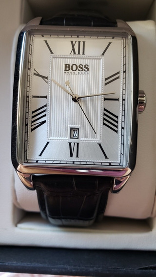 Relógio Hugo Boss Masculino Caixa Retangular