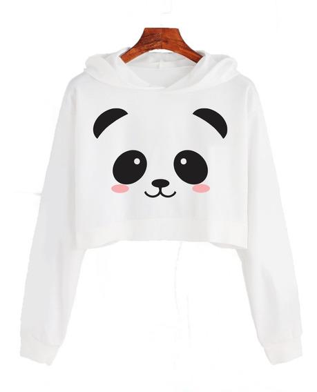 Buzo Cortomoda Tumblr Panda Kawaii Cute Dama