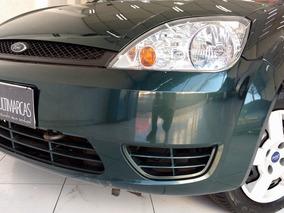 Ford Fiesta 1.0 Segundo Dono 2003 Verde C/direção Hidr.