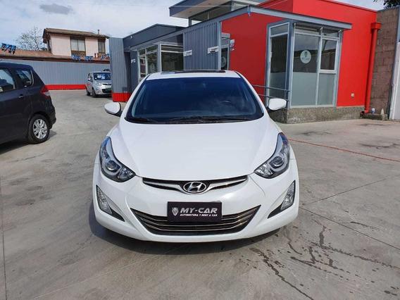 Hyundai Elantra C/techo Aut Motor 1.800 Cc Año 2015