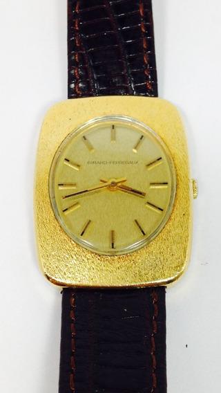 Reloj Girard Perregaux Con Baño De Oro (ref 738)
