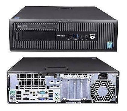 Pc Desk Sff Hp 600 G1 I3 4° Hd 1tb / 8gb Ram / Windows 7