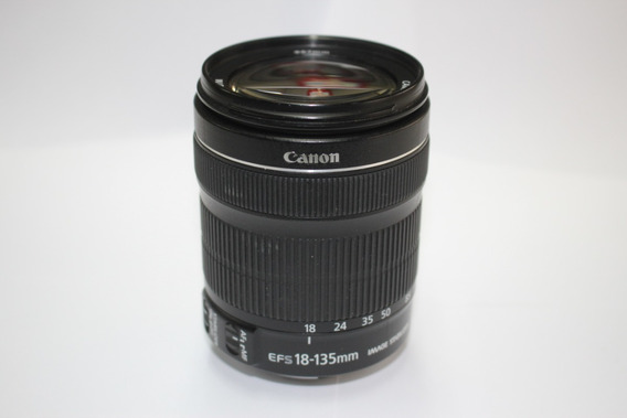 Lente Canon 18-135 Stm Nova