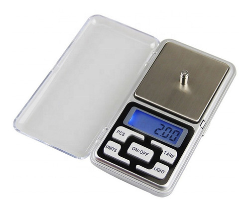 Balanza Digital De 0.1 Gr A 0.500kg Tara Portable 6 Cuotas