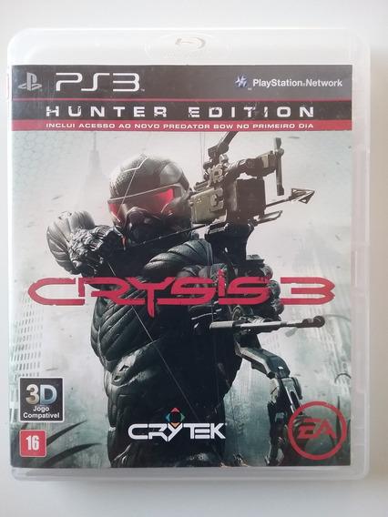 Crysis 3 Hunter Edition Ps3 Mídia Física Original Perfeito