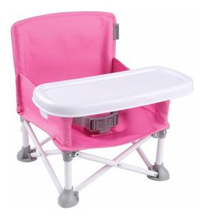 Silla Portátil Para Bebé Booster Summer Infant Rosa Popnsit