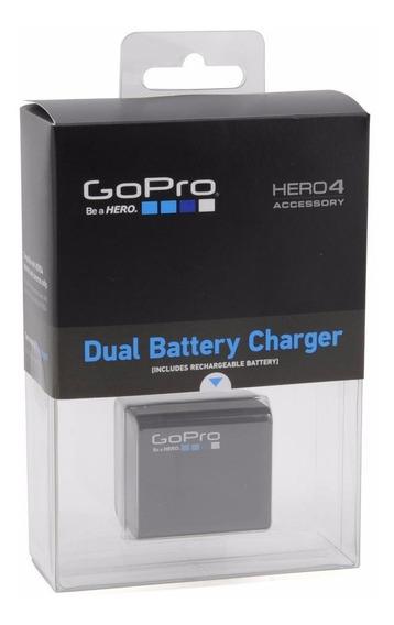 Carregador Gopro Hero 4 Duplo + Bateria Original Na Caixa