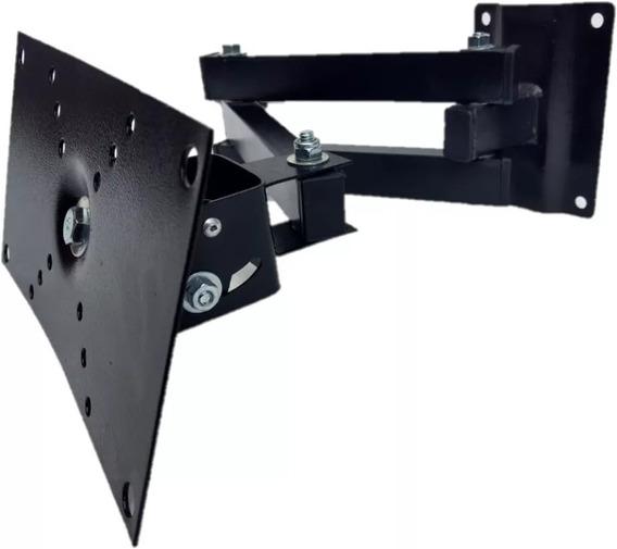 Suporte Articulado Tv Monitor Lcd Led 3d Plasma 20 A 32