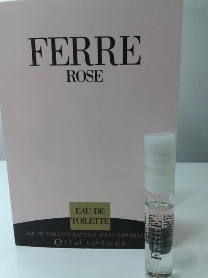 Amostra Do Perfume Ferre Rose De Gianfranco Ferre