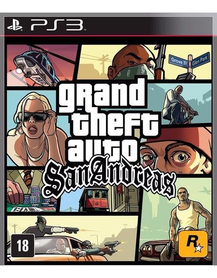 Gta San Andreas Ps3 Psn Promoção Envio Na Hora!