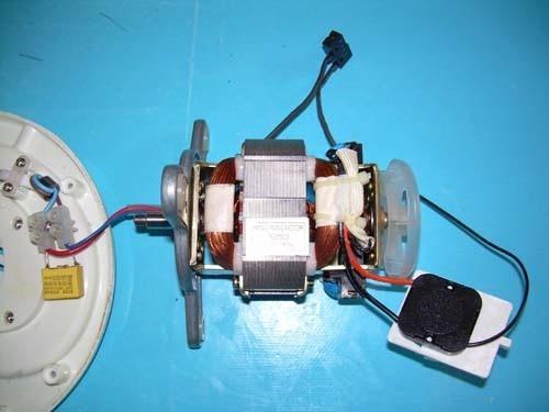 Despiece Motor Juguera Moulinex Frutti Bdk1a3