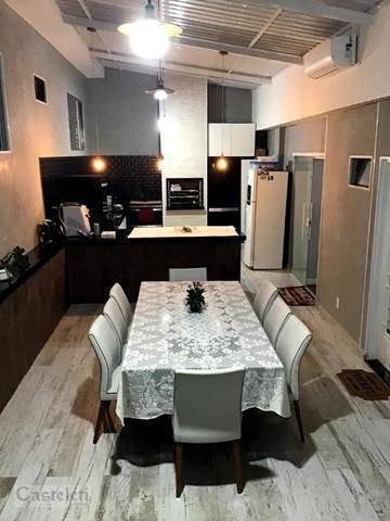 Imagem 1 de 29 de Casa Com 4 Dormitórios À Venda, 250 M² Por R$ 680.000,00 - Cidade Jardim - Campinas/sp - Ca2249