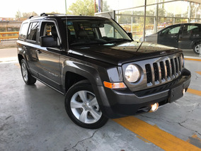 Jeep Patriot Limited Cvt Piel Quemacocos Gps Cam Rev 2016