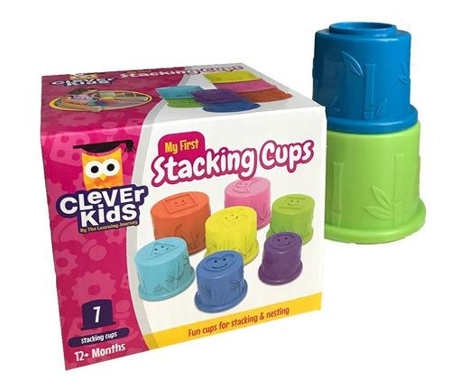 Juego Educativo Clever Kids: Tazas Apilables