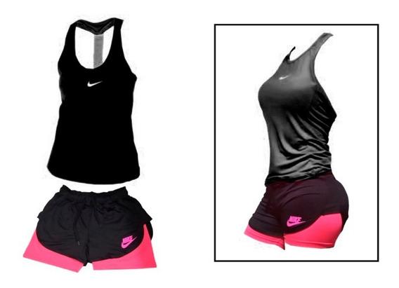 Conjunto Deportivo Shorts + Musculosa