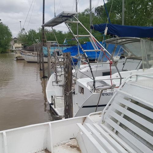 Imagen 1 de 5 de Alquiler Amarras En Delta Tigre  Isla Atlantis